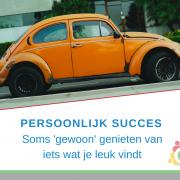 Wat is Persoonlijk Succes? | persoonlijk succes is genieten