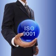 ISO 9001 wereldbol