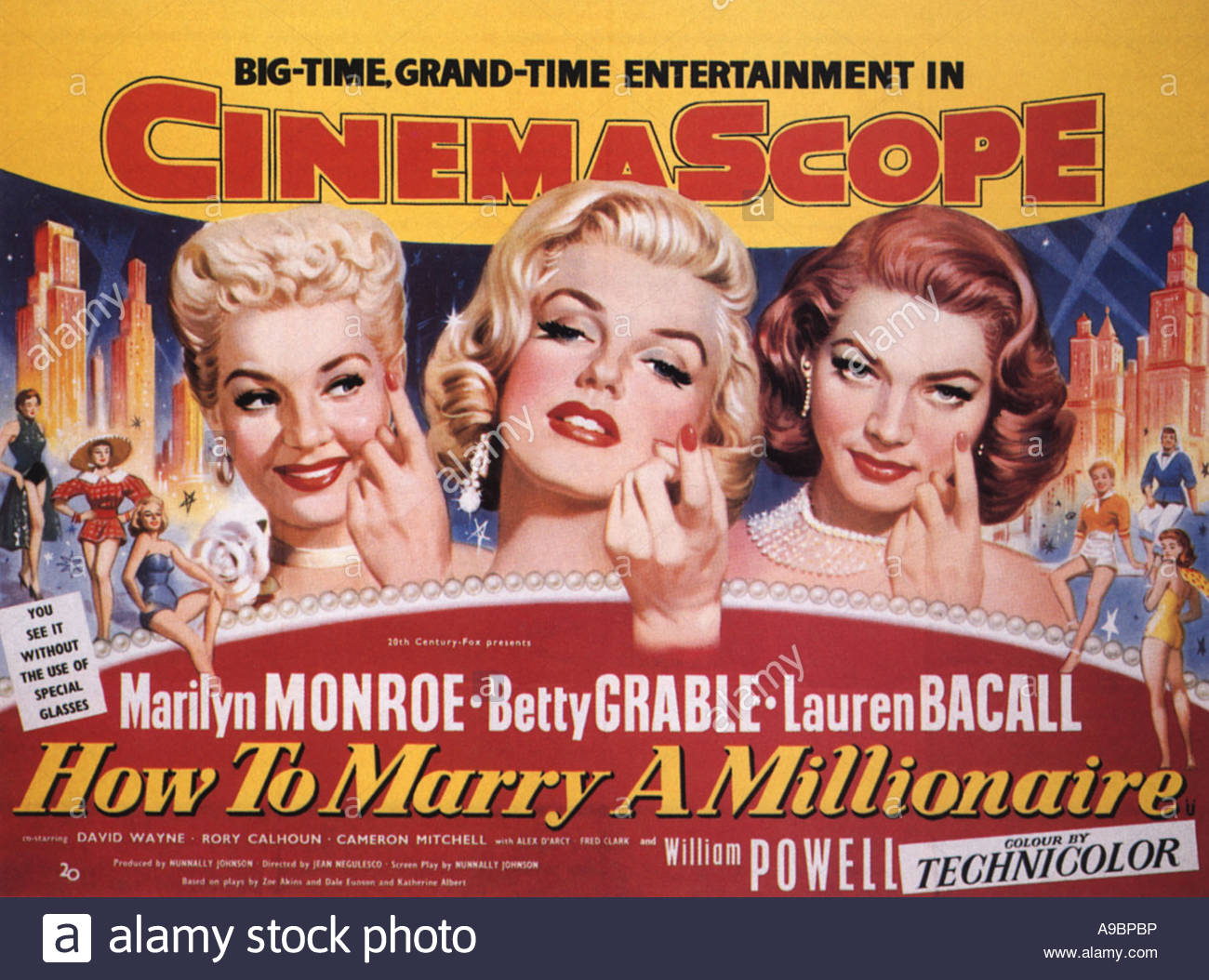 How to marry a millionaire filmposter