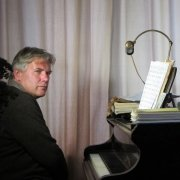Edwin Gitsels achter de piano